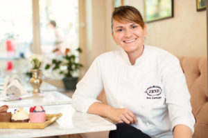 Ana Consulea - Pastry Chef Zexe Braserie