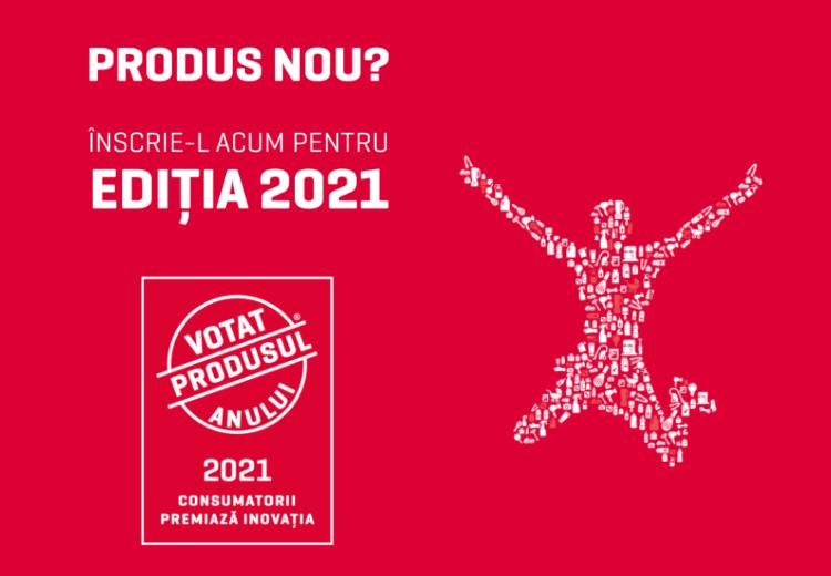 votat produsul anului 2021