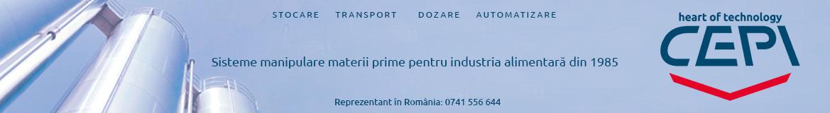 Silozuri, instalatii stocare trasnport dozare fainuri, alte ingrediente
